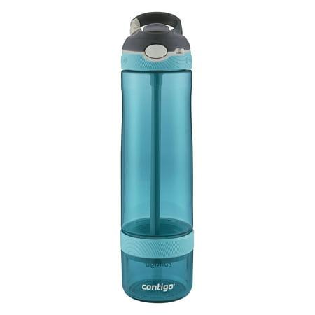 Contigo AUTOSPOUT Straw Ashland Infuser Stainless Steel Water Bottle,  26 oz, Scuba