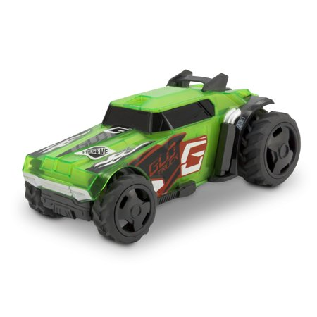 Adventure Force Pull-Back & Glow Racer, Green](Adventure Time Car Accessories)