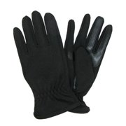 Size Medium Mens Unlined SmarTouch Stretch Glove, Black