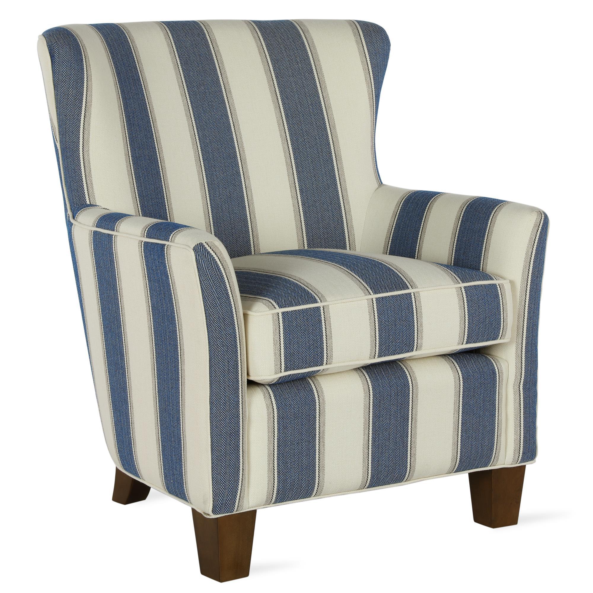 better homes  gardens grayson accent chair blue stripe