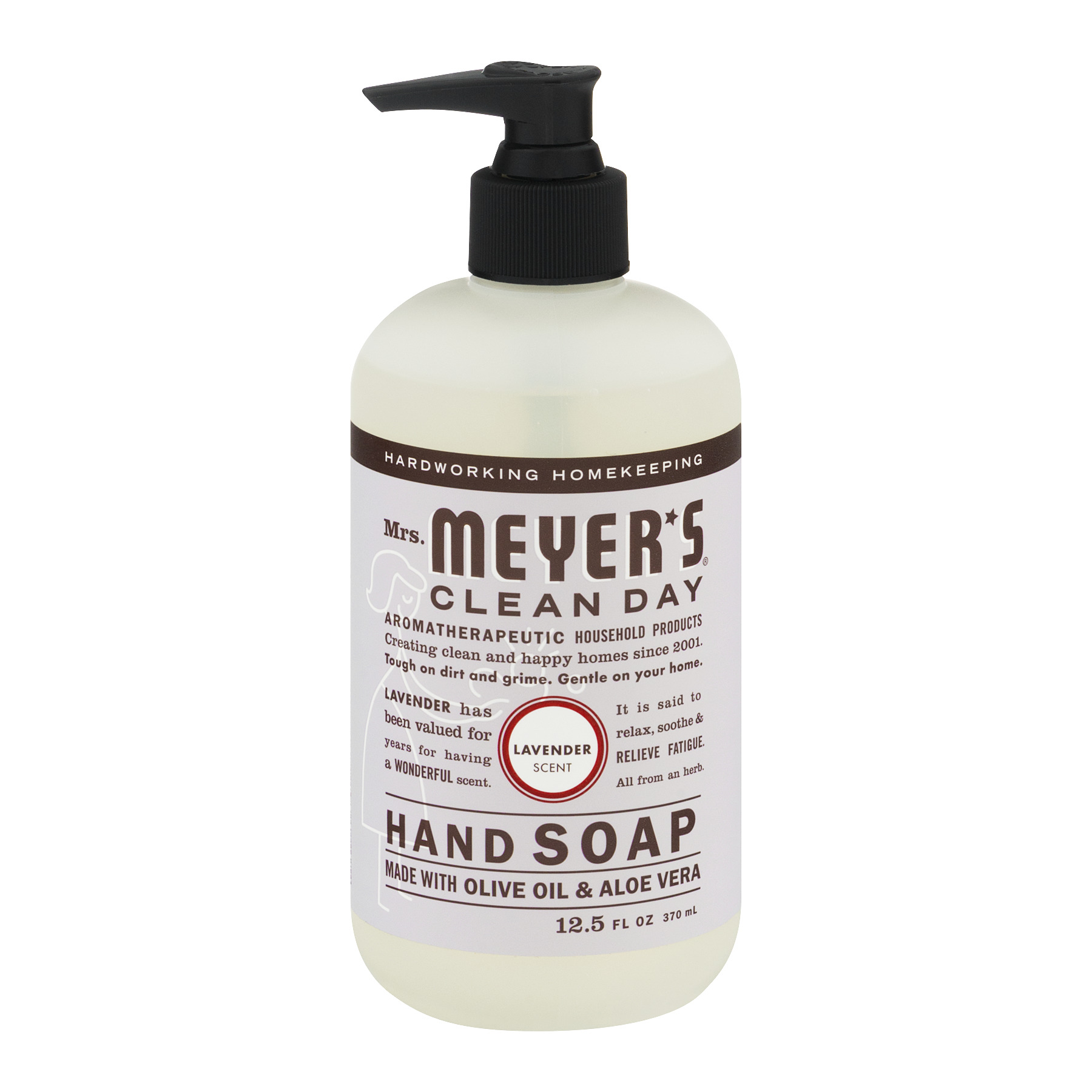 Mrs. Meyer's Clean Day Liquid Hand Soap, Lavender, 12.5 Oz