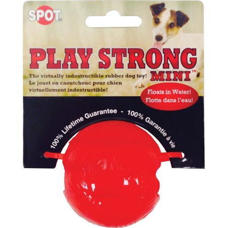 Ethical products spot play strong rubber ball 2.25