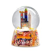 NYC Broadway Water Globe Multi-Colored