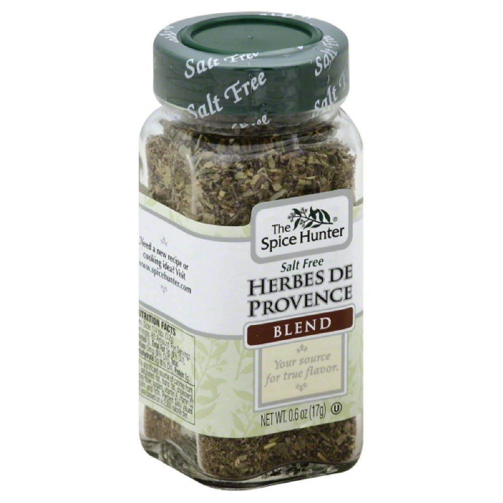 Spice Hunter Salt Free Blend Herbes De Provence, 0.6 Oz (Pack of 6)