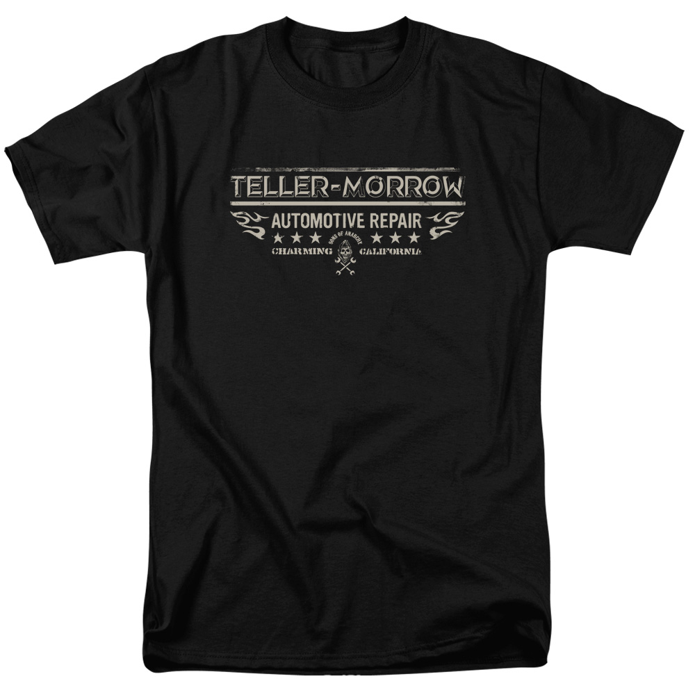 Sons of Anarchy TV Show Teller Morrow Adult T-Shirt Tee