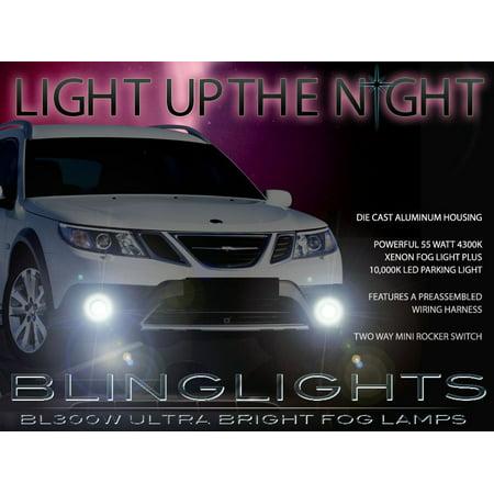 2008 2009 2010 2011 2012 Saab 9-3 93 Fog Lamps Lights Foglamps Sport Sedan Convertible Aero