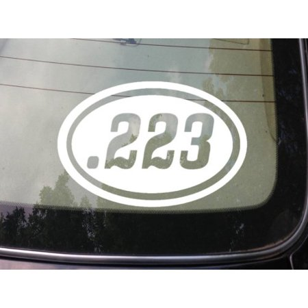 .223 gun decal sticker hunting sticker ar-15
