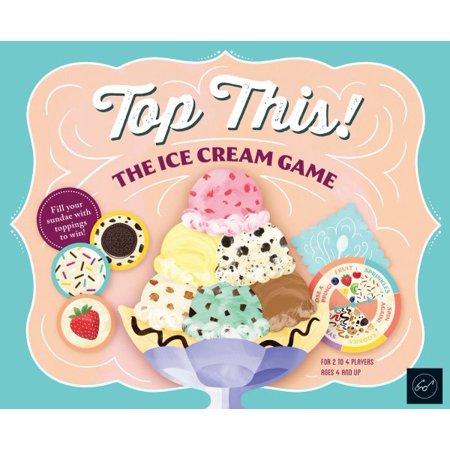 Top This! The Ice Cream Game - Halloween Ice Cream Games