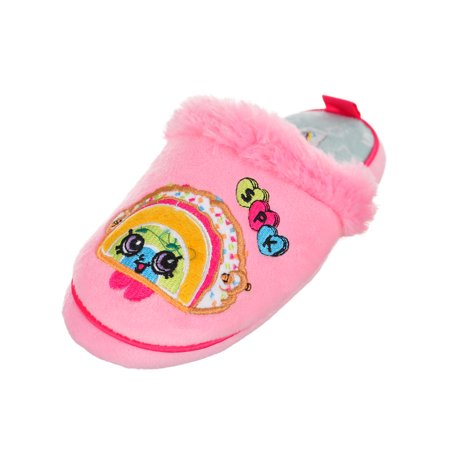 Shopkins Girls' Slippers (Sizes 11 - 3)