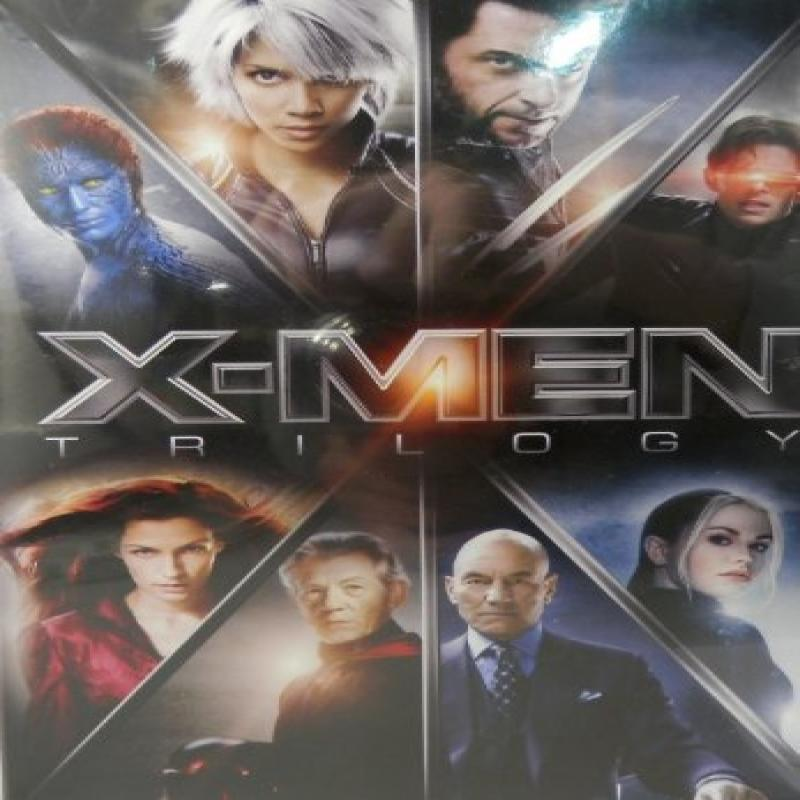 X-Men Trilogy (X-Men   X2: X-Men United   X-Men: The Last Stand) by