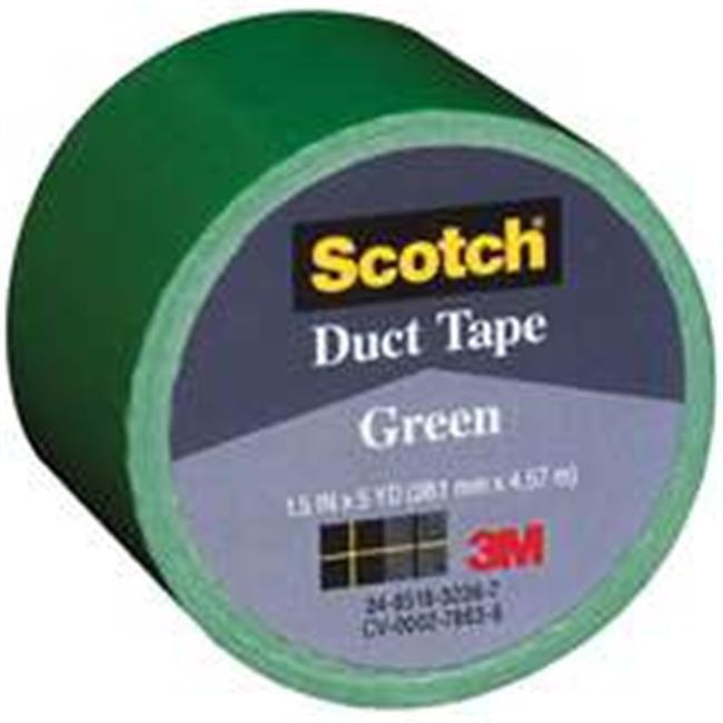 3M 1005-GRN-IP 1.5 in. x 5 yd. Green Cloth Tape - image 1 de 1