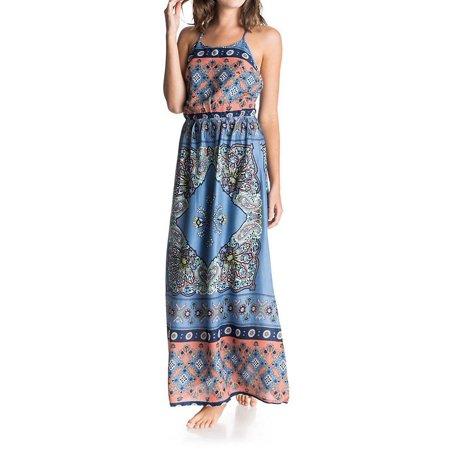 043c1cc0a649 Roxy - Roxy D03025 Summer Fleet Maxi Dress - Walmart.com