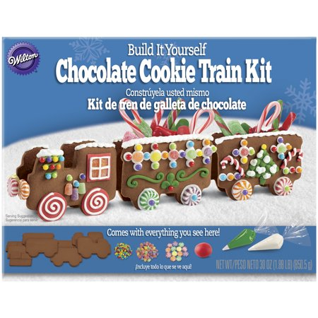 Wilton Build It Yourself Chocolate Cookie Train Decorating Kit - Wilton Halloween Cupcake Decorating Kit