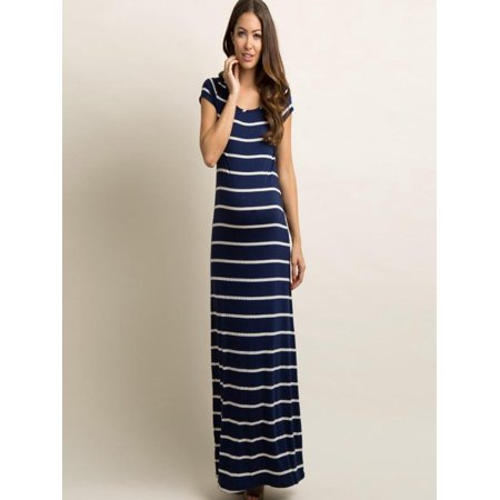 9d90437b138 Mosunx - Mosunx Women s Fashion Maternity Striated Comfortable ...