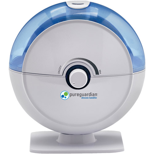 PureGuardian H1010 14-Hour Ultrasonic Cool Mist Humidifier, Table Top, Blue