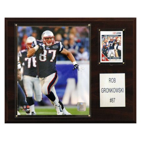 Nfl 12 X 15 In  Rob Gronkowski New England Patriots Player Plaque