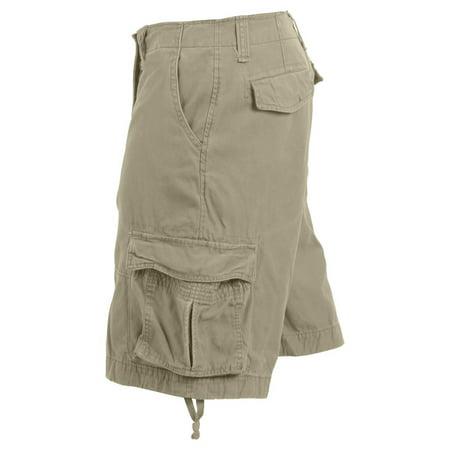 00293ee60e Rothco Vintage Camo Infantry Utility Shorts - Woodland Digital Camo, Large  - image 1 of ...