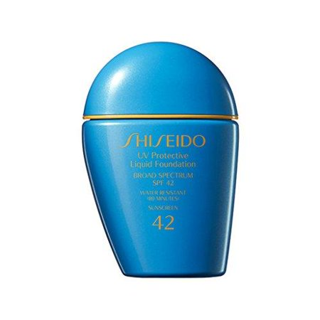 shiseido uv protective liquid foundation spf42 - light