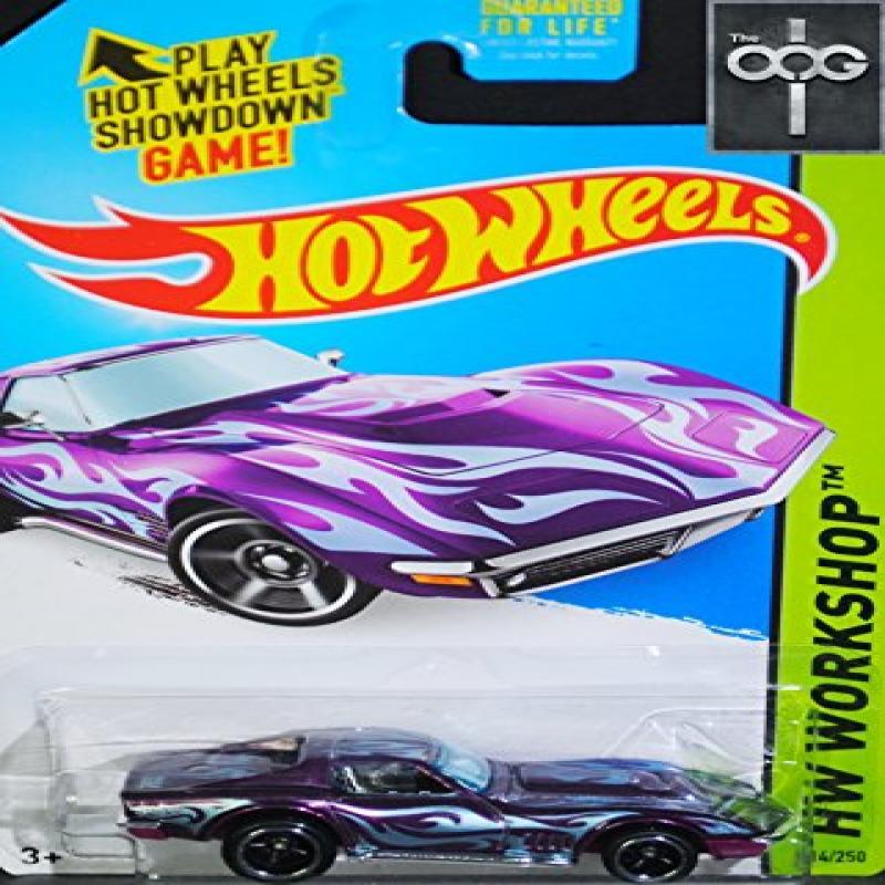 Mattel Hot Wheels '69 Corvette Super Treasure Hunt 2014