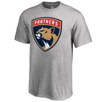 Florida Panthers Fanatics Branded Youth Primary Logo T-Shirt - Heather Gray