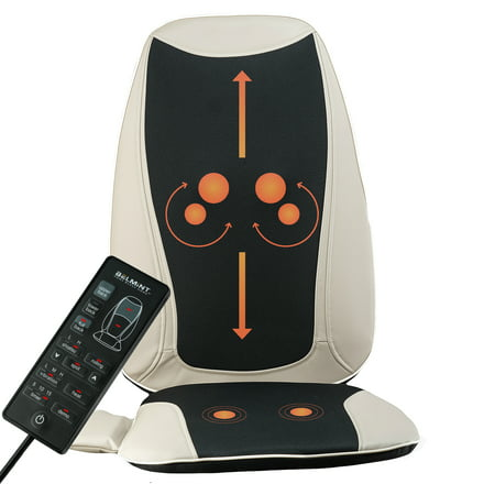 Belmint Massage Seat Cushion with Shiatsu Vibration and Heat