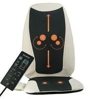 Belmint Seat Cushion Massager with Shiatsu Vibration and Heat
