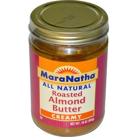 Maranatha Roasted Almond Butter - MaraNatha, Roasted Almond Butter, Creamy, 16 oz (pack of 1)