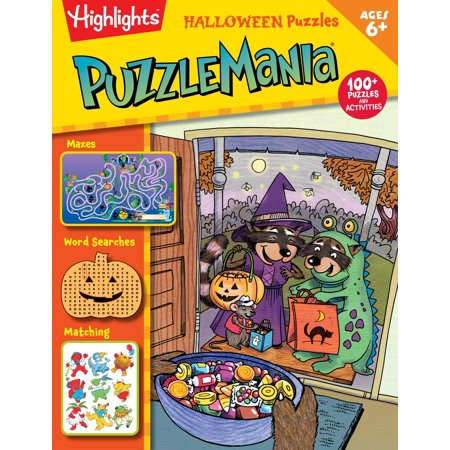 Halloween Puzzles - Autumn Halloween Activities