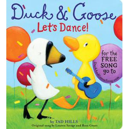 Duck & Goose, Let's Dance! (with an original song) - eBook (Halloween Song And Dance For Kids)