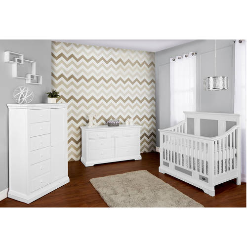 Evolur Parker 5-in-1 Convertible Crib, Choose Your Finish by Evolur