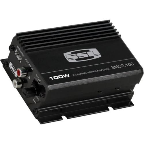 100W 2 Channel Full Range, Class A/B Amplifier