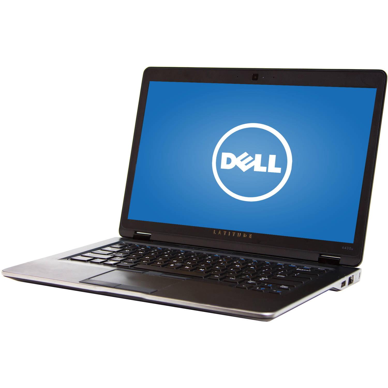 "Refurbished Dell Ultrabook 14"" Latitude 6430U Laptop PC with Intel Core i5-3427U Processor, 8GB Memory, 256GB Solid State Drive and Windows 10 Pro"