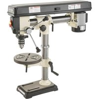 "Shop Fox W1669 34"" Benchtop Radial Drill Press"