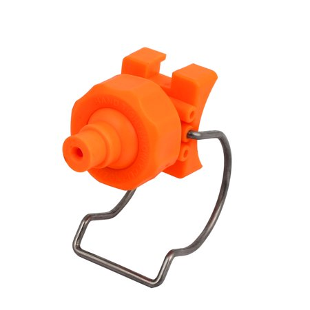 BT6 PP Adjustable Ball Clip Solid Cone Clamp Spray Nozzle for 44-51mm Pipe