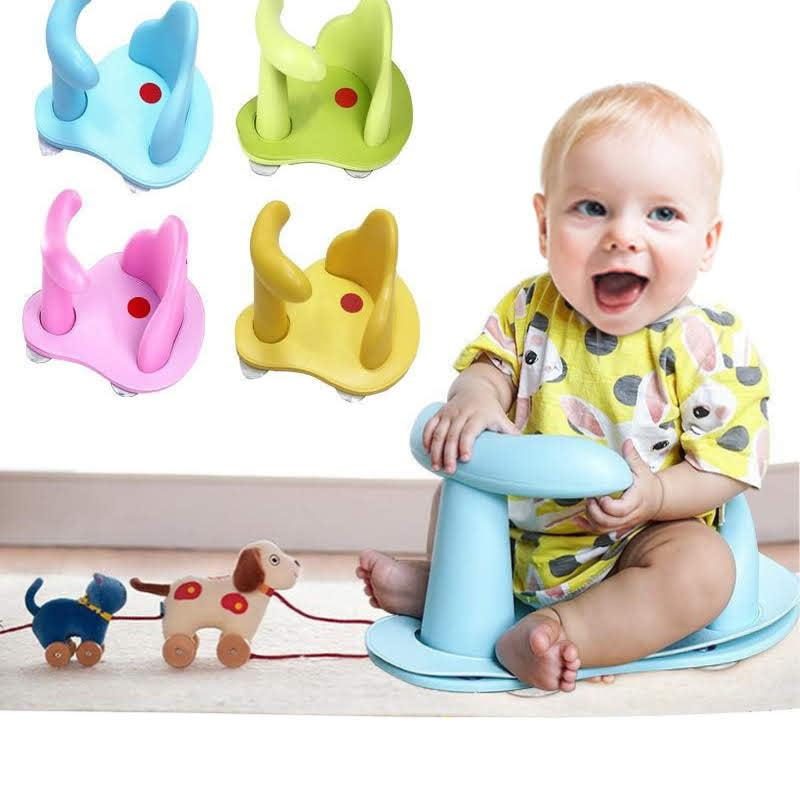 Baby Bath Seat Baby Bath Tub Ring Seat Infant Child Toddler Kids Anti Slip Safety Chair