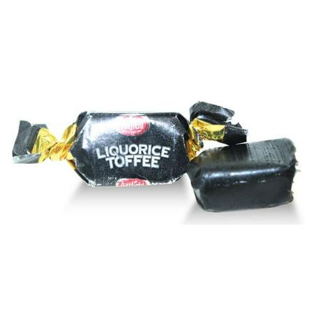 Oatfield, Irish Black Liquorice (licorice) Toffee (1.500 Lbs)