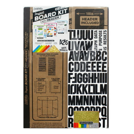 Artskills Project Board Kit, All-in-One Display Board Kit with Accessories
