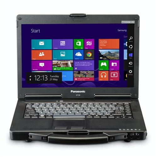 "Panasonic Toughbook CF-53 14"" Touchscreen LED (CircuLumin) Notebook - Intel Core i5 i5-4310U 2 GHz CF-532SLZYCM"