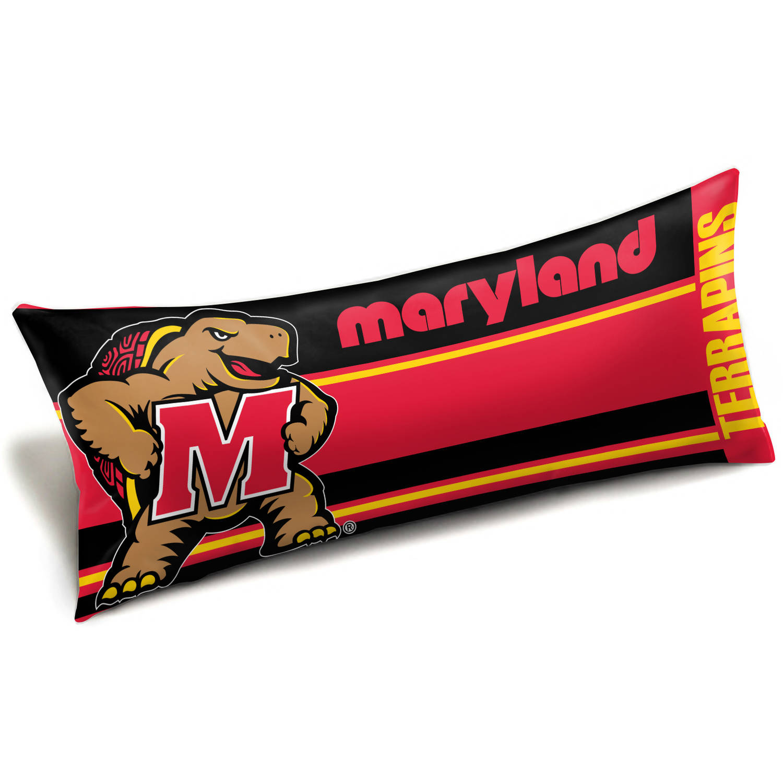 NCAA Maryland Terrapins Body Pillow, 1 Each