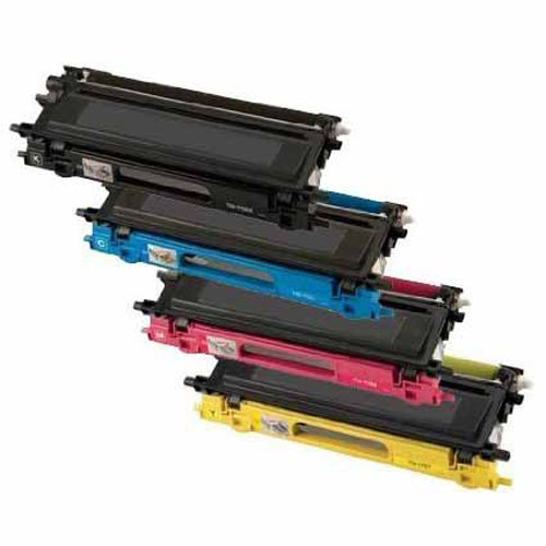 Universal Inkjet Premium Compatible Compatible Brother TN315BK/TN315C/TN315M/TN315Y Cartridges, 4-Pack