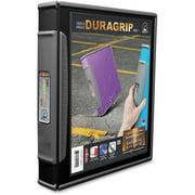 Storex Dura Grip D-ring Black View Binders, Black, 1 Each (Quantity)