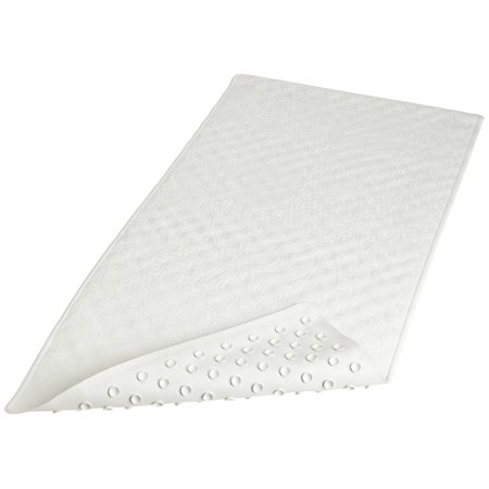 Rubber Bath Tub Mat White 100 Rubber By Carnation Home