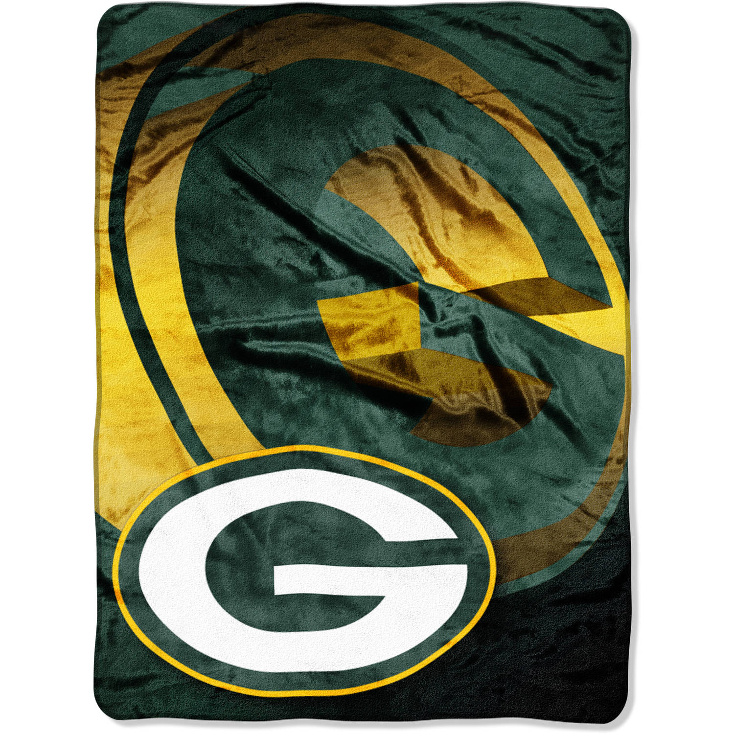 "NFL Green Bay Packers 60"" x 80"" Oversized Micro Raschel Throw"