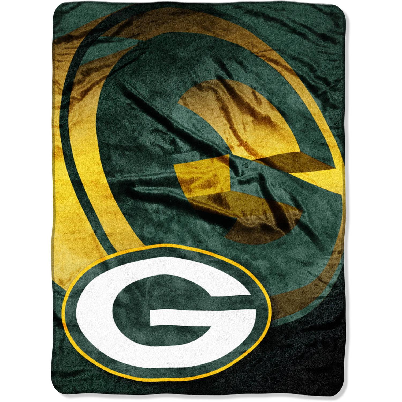 "NFL Green Bay Packers 60"" x 80"" Oversized Micro Raschel Throw"