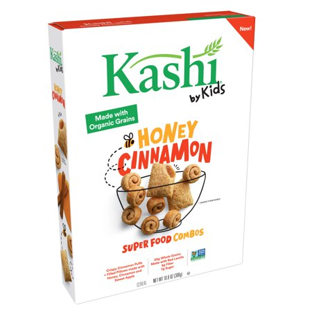 Kashi by Kids Honey Cinnamon Super Food Combos Cereal 10.8 oz