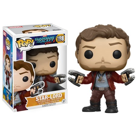 Funko POP Movies: Guardians of the Galaxy 2 Star Lord Toy Figure, Styles May Vary -