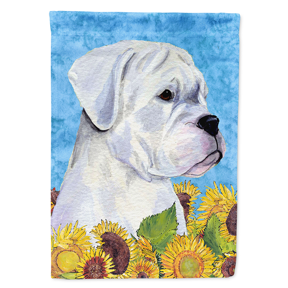 Boxer Flag Canvas House Size by Caroline's Treasures