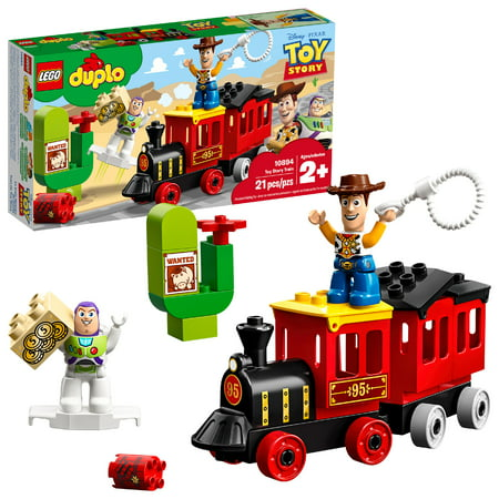 LEGO DUPLO Toy Story Train 10894 Preschool Building Set ()