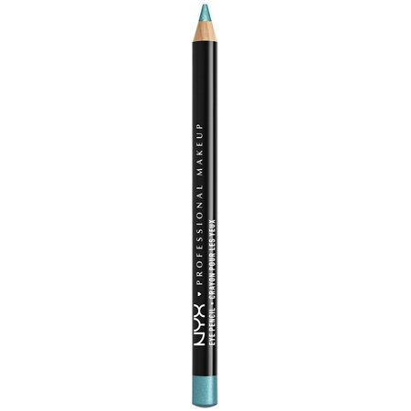 3 Pack - NYX Professional Makeup Slim Eye Pencil, Aqua Shimmer 1 (Make Up For Ever Aqua Xl Eye Pencil)