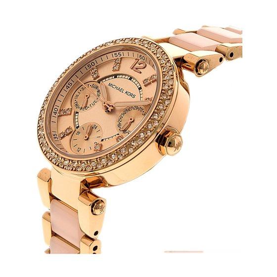 e8210043a116 Michael Kors - Michael Kors Women s Parker Gold Tone Watch MK6110 ...